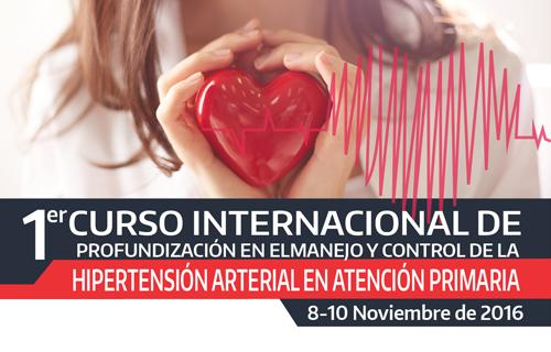 I Curso de profundización en el manejo y control de la Hipertensión arterial en atención primaria